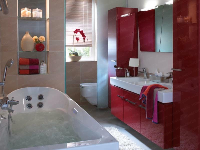 Dise os de ba os peque os colores en casa - Diseno cuartos de bano pequenos ...