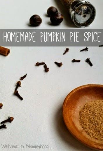 Homemade pumpkin pie spice by Welcome to Mommyhood #paleo, #homemadepumpkinpiespice