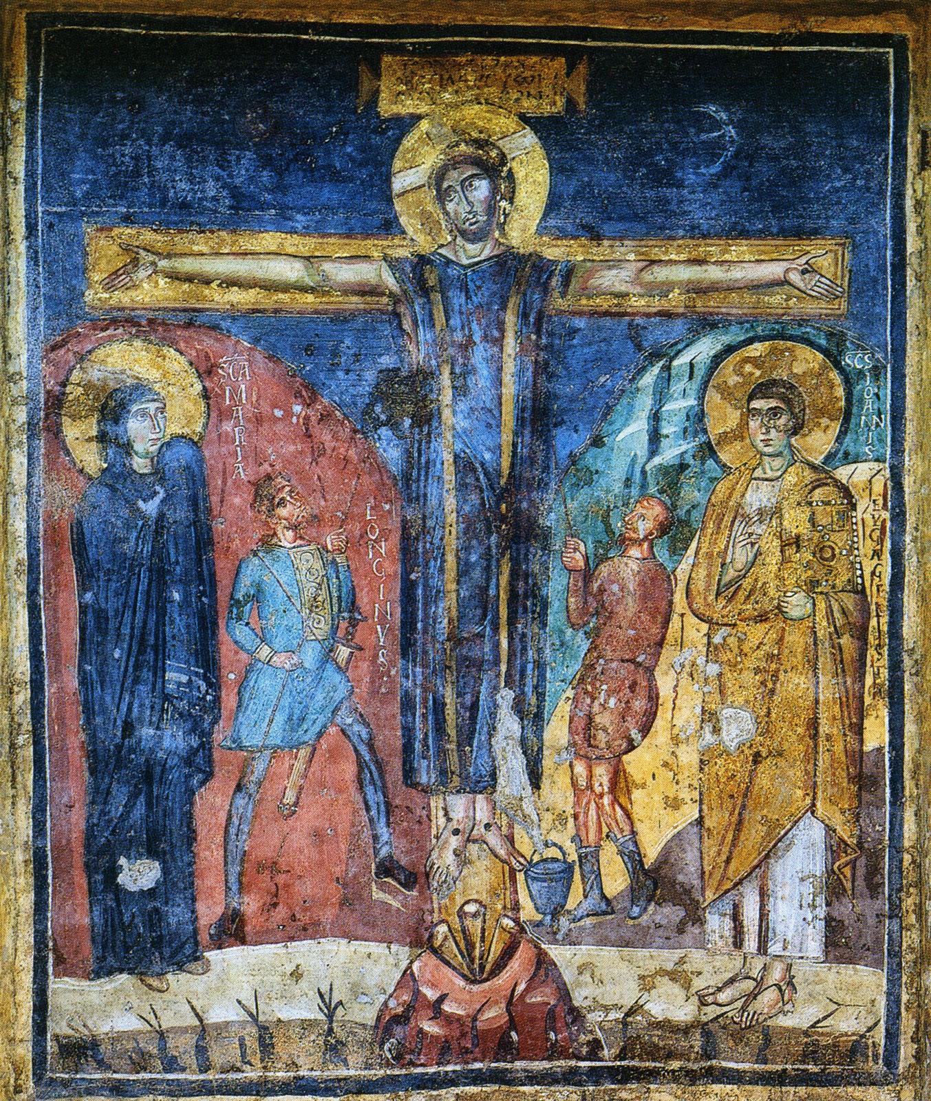 Σπάνια εικόνα της Σταύρωσης από το Σινά http://leipsanothiki.blogspot.be/