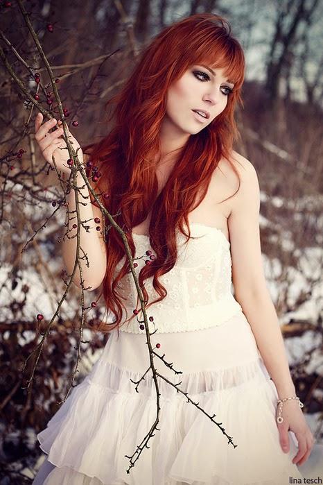 Женские фотографии рыжеволосых девушек фото 656-662