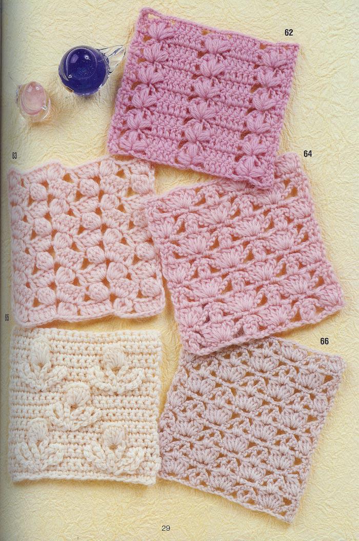 Solo puntos crochet calados for Cosas de ganchillo faciles