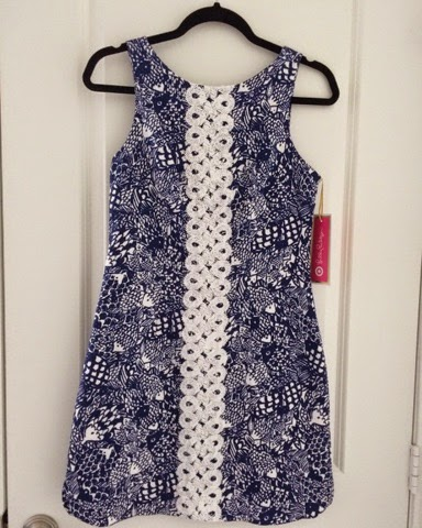 lilly pulitzer for target, shift dress