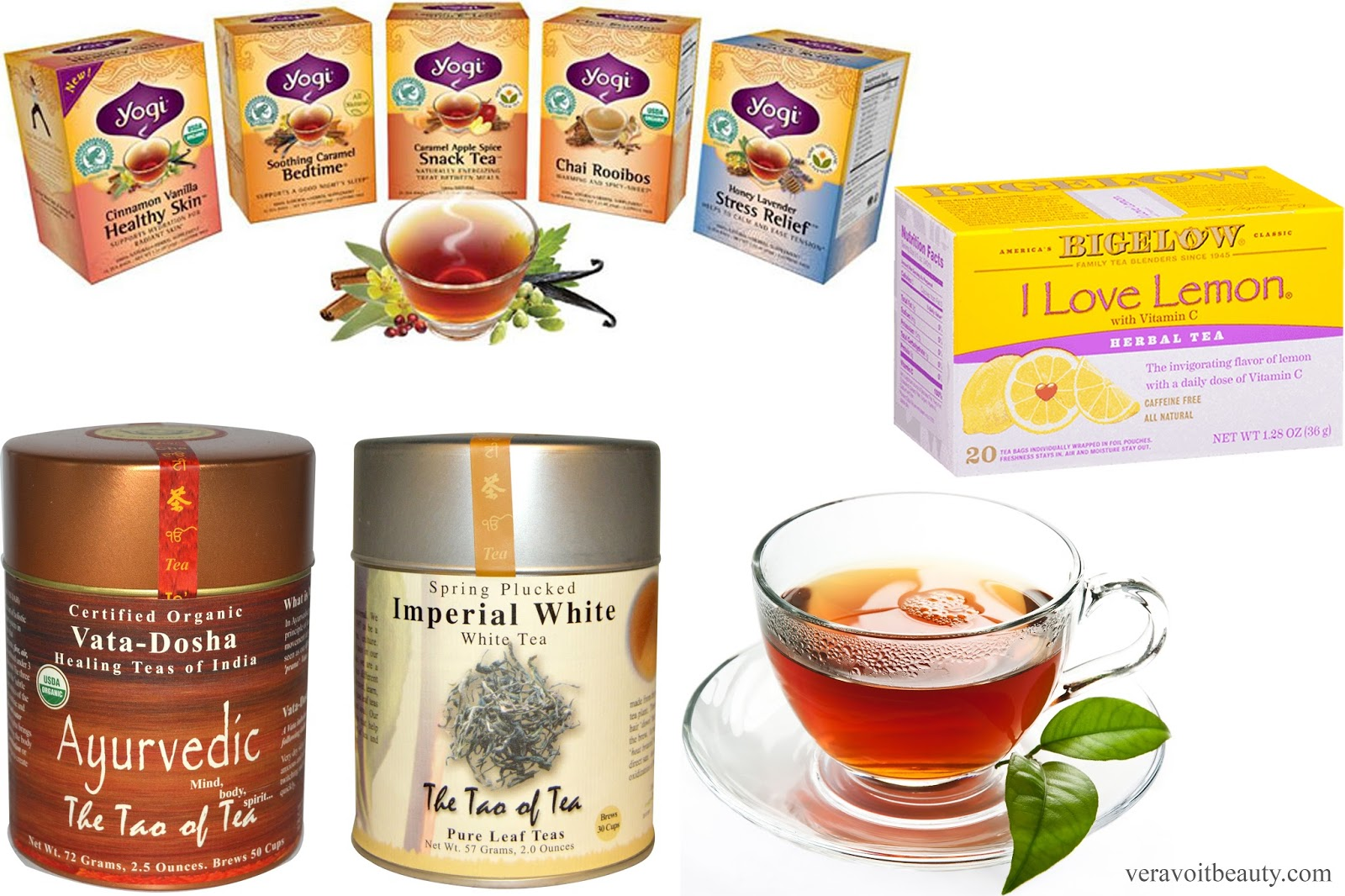 Чай из iherb