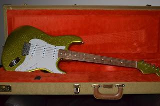 Fender Custom Shop Esparza Chartreuse