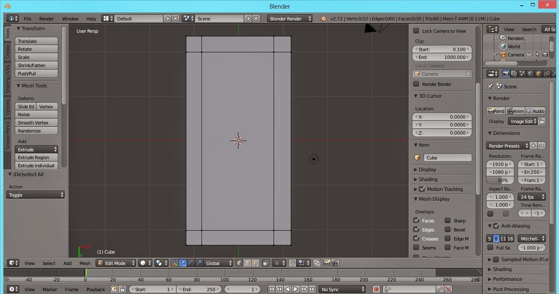 Animasi 3D Blender