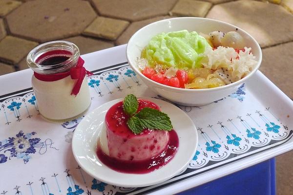Ăn Chơi Đi ăn Panna Cotta, chè pudding thanh mát ở Tô Hiến Thành