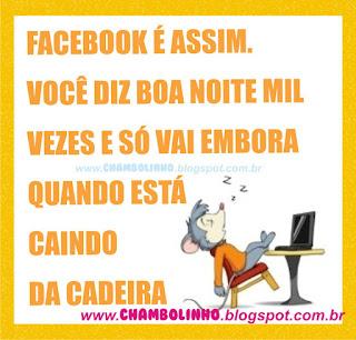 Boa Noite pra Facebook Ratinho Dormindo na cadeira
