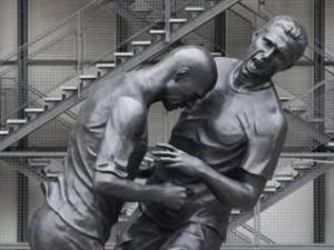 تمثال نطحة زيدان تمثال نطحة