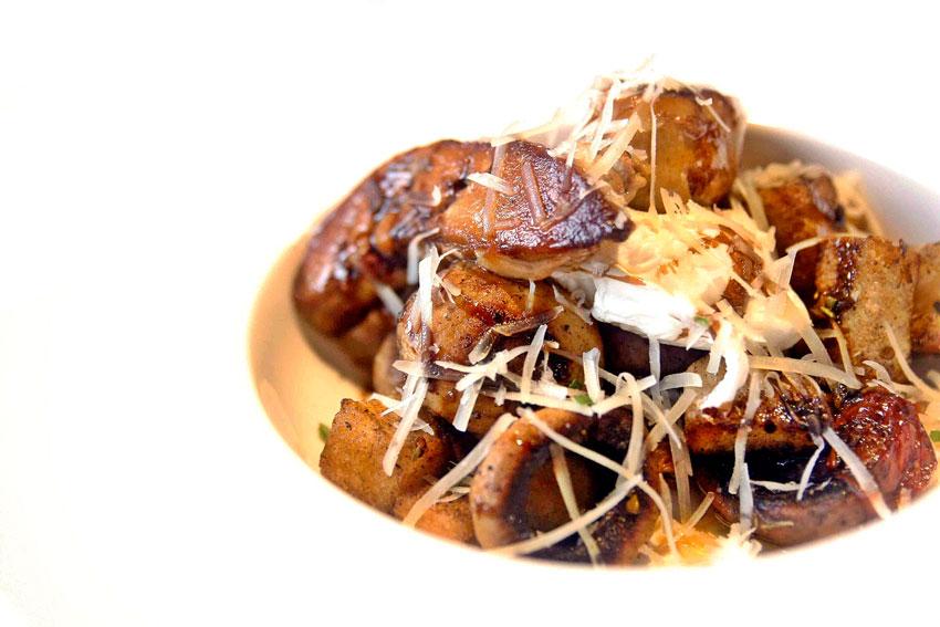 Nest Manila Foie Gras and Mushroom