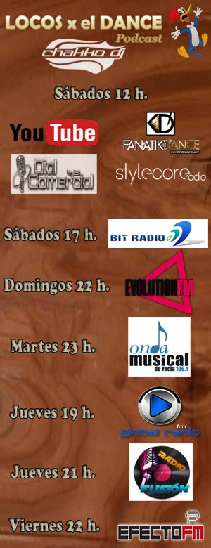 Horarios Locos x el Dance Podcast