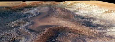Couverture Facebook de plus grand canyon du système solaire 09