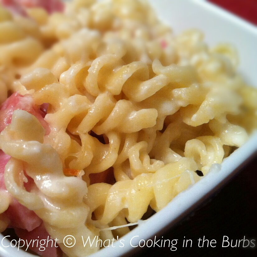 What's Cooking in the Burbs: Skillet Chicken Cordon Bleu Pasta