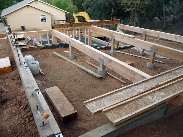 Retirement job project manager leisure day 22 23 upper for Concrete slab for garage