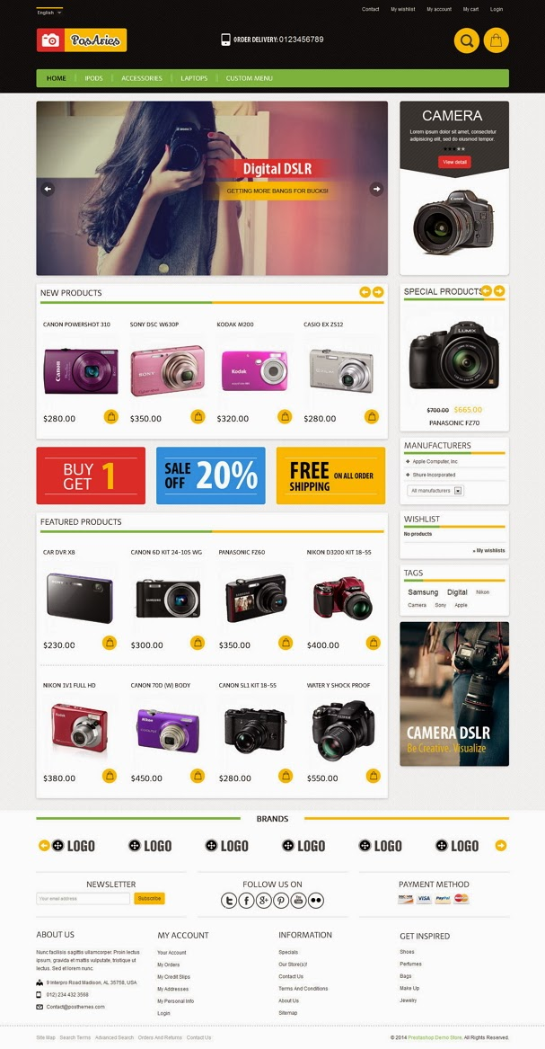 Responsive eCommerce Theme