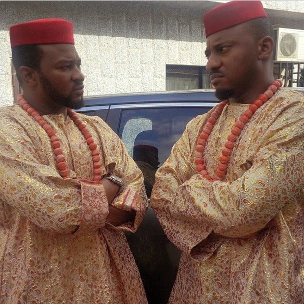 nollywood by mindspace chigozie atuanya and yul edochie
