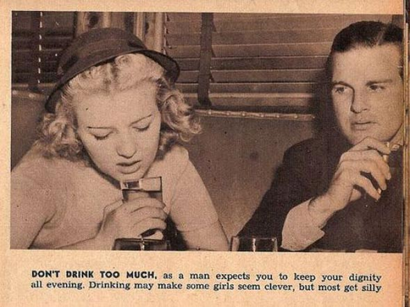 Proper dating etiquette for women