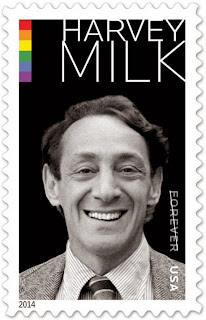 HARVEY MILK ACCORDED A POSTAGE STAMP ...