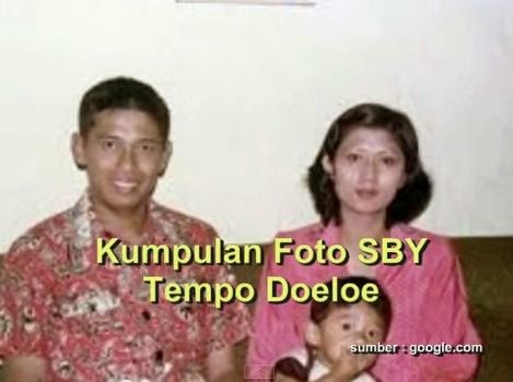 Foto Bapak SBY Bersama Istri dan Anak Pertama Agus Harimurti