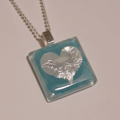 Glass tile necklace for valentines day happy hour projects it occurred to me that some people are like me and havent found the clear glass tiles everyone seems to be using anywhere in stores aloadofball Image collections