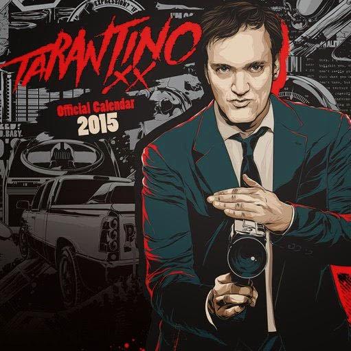 Calendario Quentin Tarantino 2015