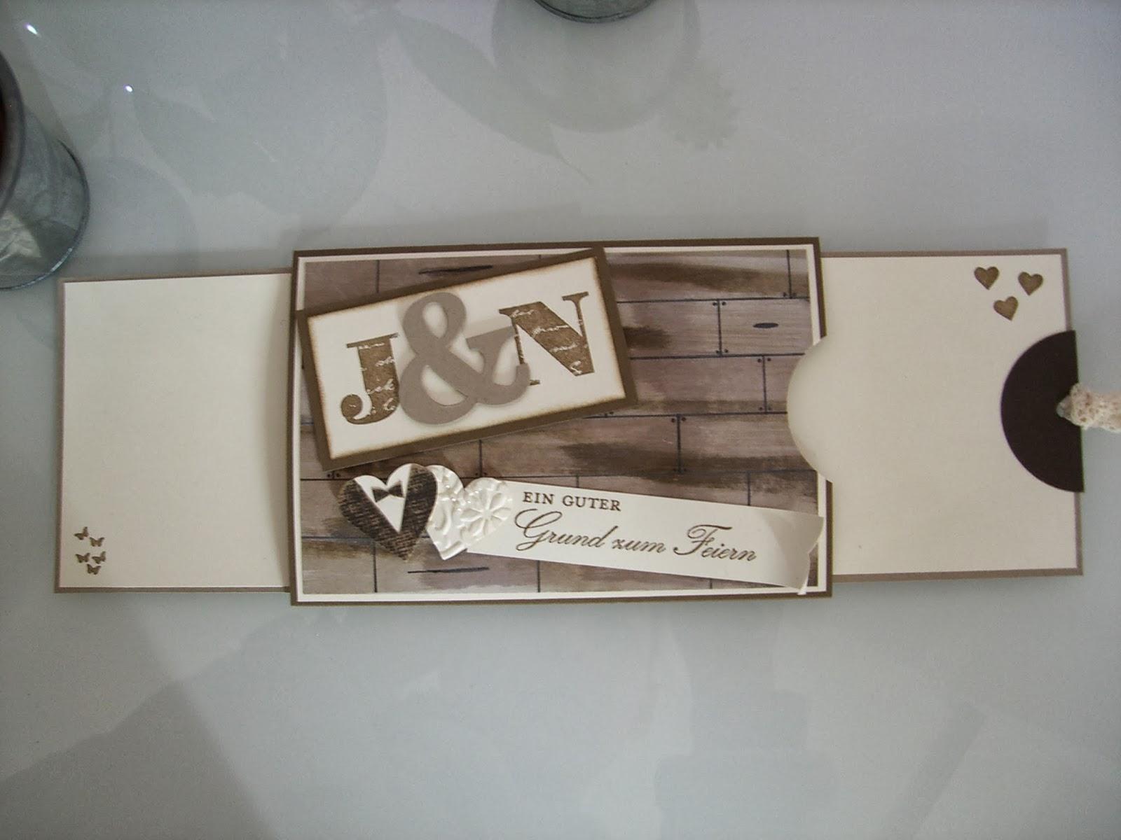 Hinas Bastelbrett Hochzeitskarten