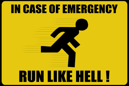 Funny Warning Signs Emergency