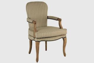 sillon tela y madera, sillon salon, sillon tela clasico
