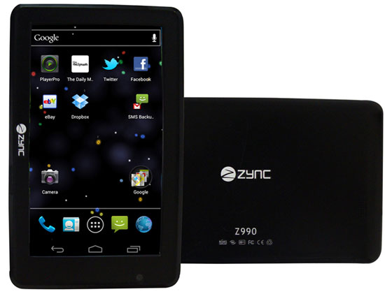 Android-ICS-Zync-Z990-tablet
