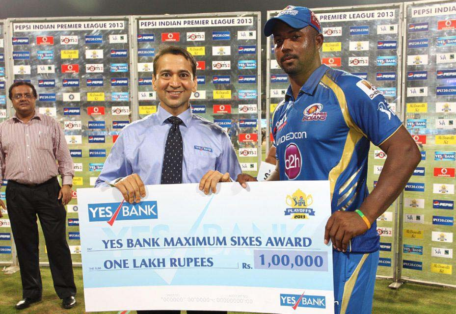 Dwayne-Smith-Maximum-Sixes-RR-vs-MI-Qualifier2-IPL-2013