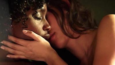 Tenika Davis and Kaitlyn Wong Lesbian kiss, Wrong Turn 4 Watch Online lesbian media
