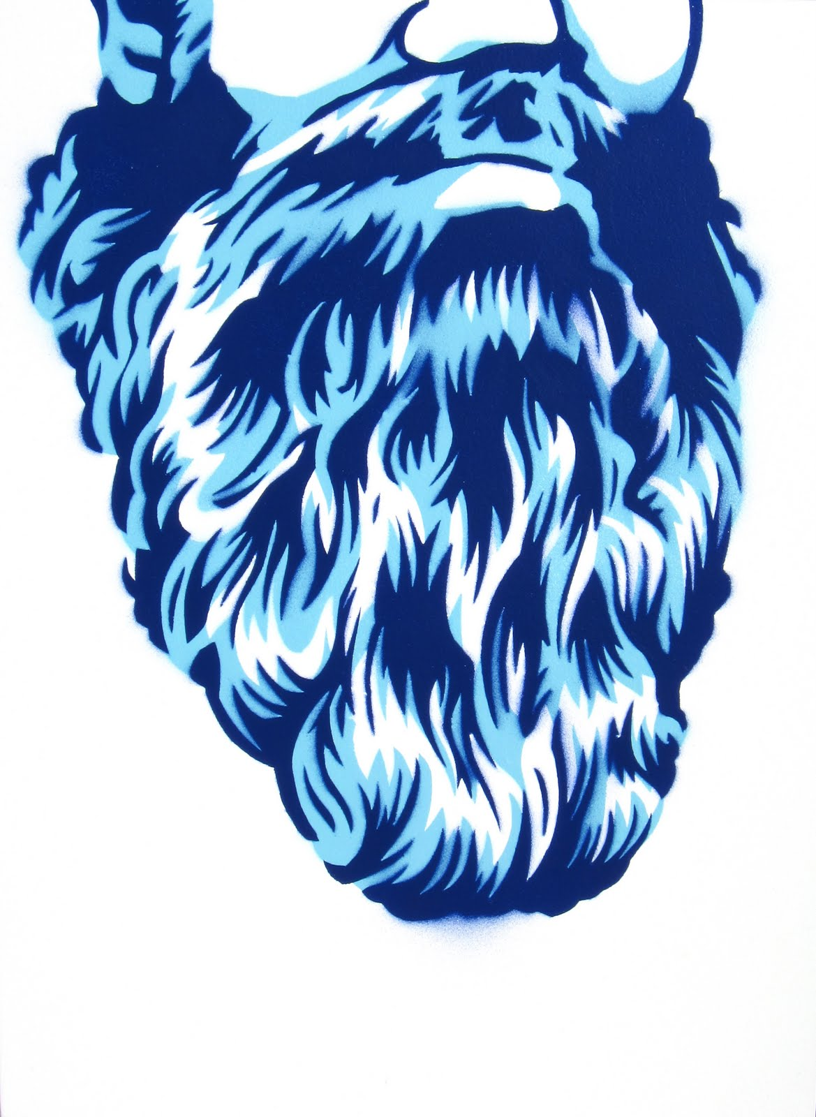 Beard Stencil Posted by james dodd at 6:55