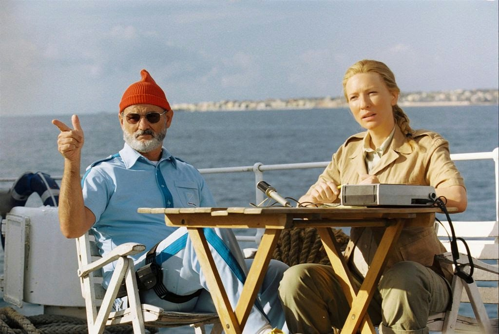 the life aquatic with steve zissou bill murray cate blanchett