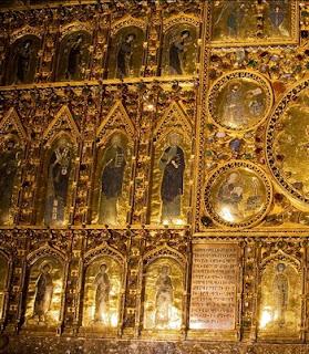 Basilica di san marco pala d oro and baptistery for Pala de oro