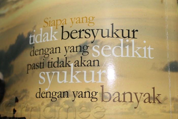 Wordless Wednesday # 5 Belajar Bersyukur