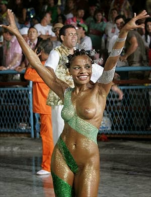 Brazil Carnival Nude Stock Photos and Pictures Getty