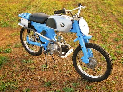 1966 Honda C110 Scrambler