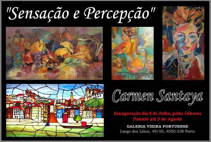 """""""Sensação e Percepção"""" de Carmen Santaya"""