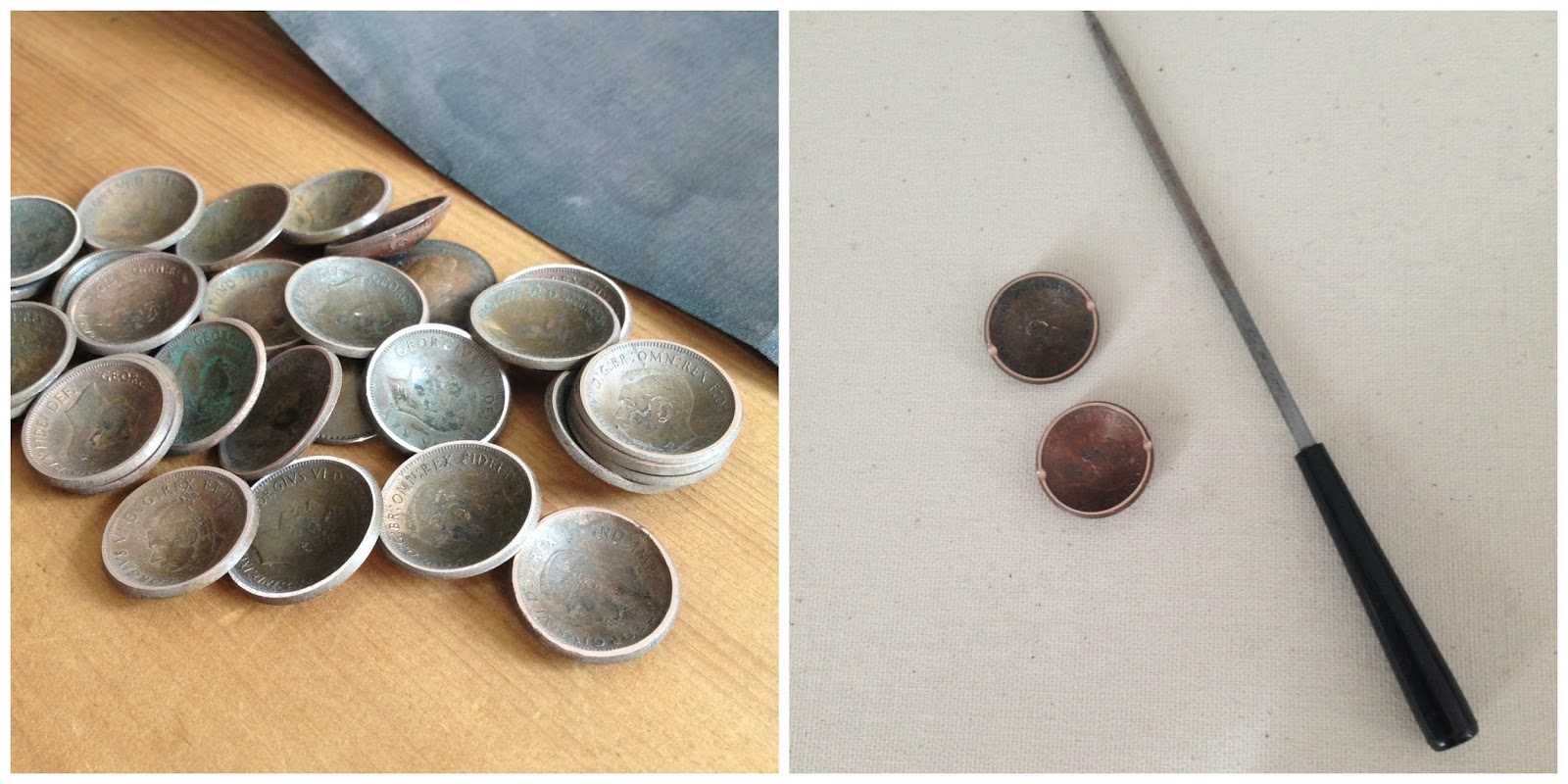 filing a bead