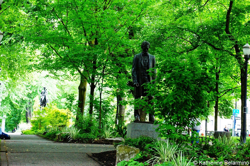 Abraham Lincoln South Park Blocks Portland Oregon