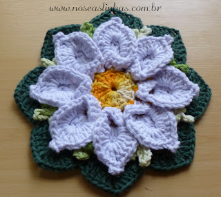 margarida bicuda croche