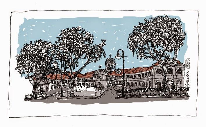 Singapore Art Museum sketch