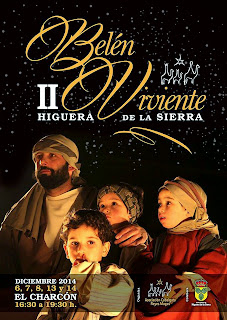 Higuera de la Sierra (Huelva) - Belén Viviente 2014