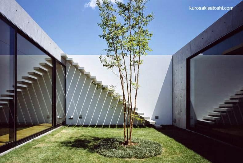 Arquitectura de casas una casa peque a alrededor de un for Central jardin rosiere
