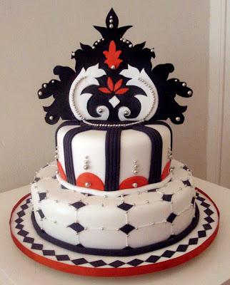Art in wedding cakes