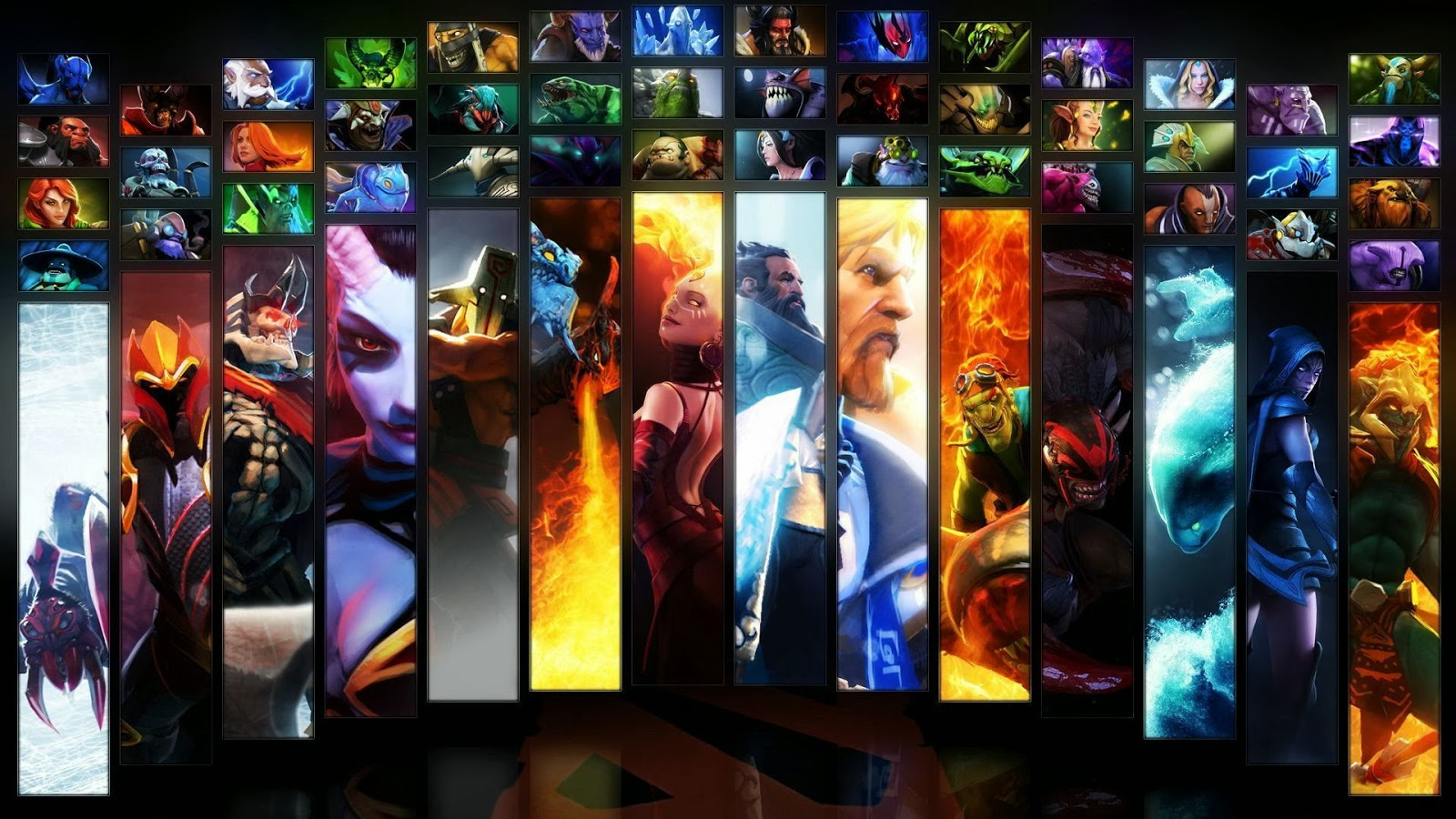 hd custom animation wallpapers pictures dota 2 heroes colection