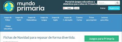 http://www.mundoprimaria.com/navidad-para-ninos-de-primaria/fichas-de-navidad.html
