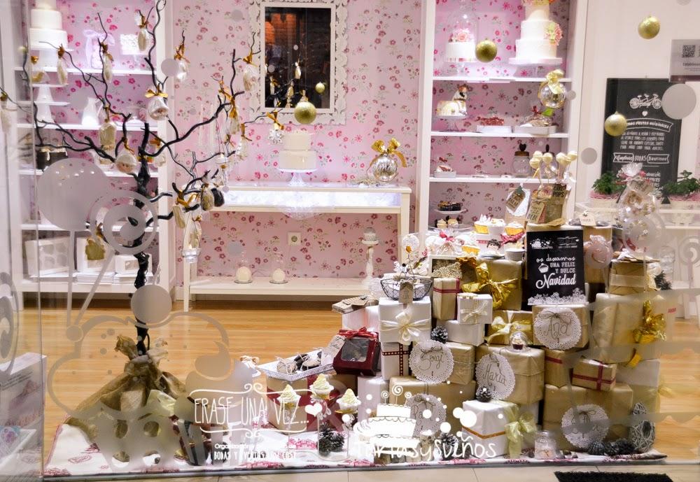 Rase una vez bodas y eventos navidad dulce navidad - Articulos para decoracion escaparates ...
