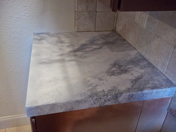 Paint Kitchen Counter Top To Look Like Marble Everything I