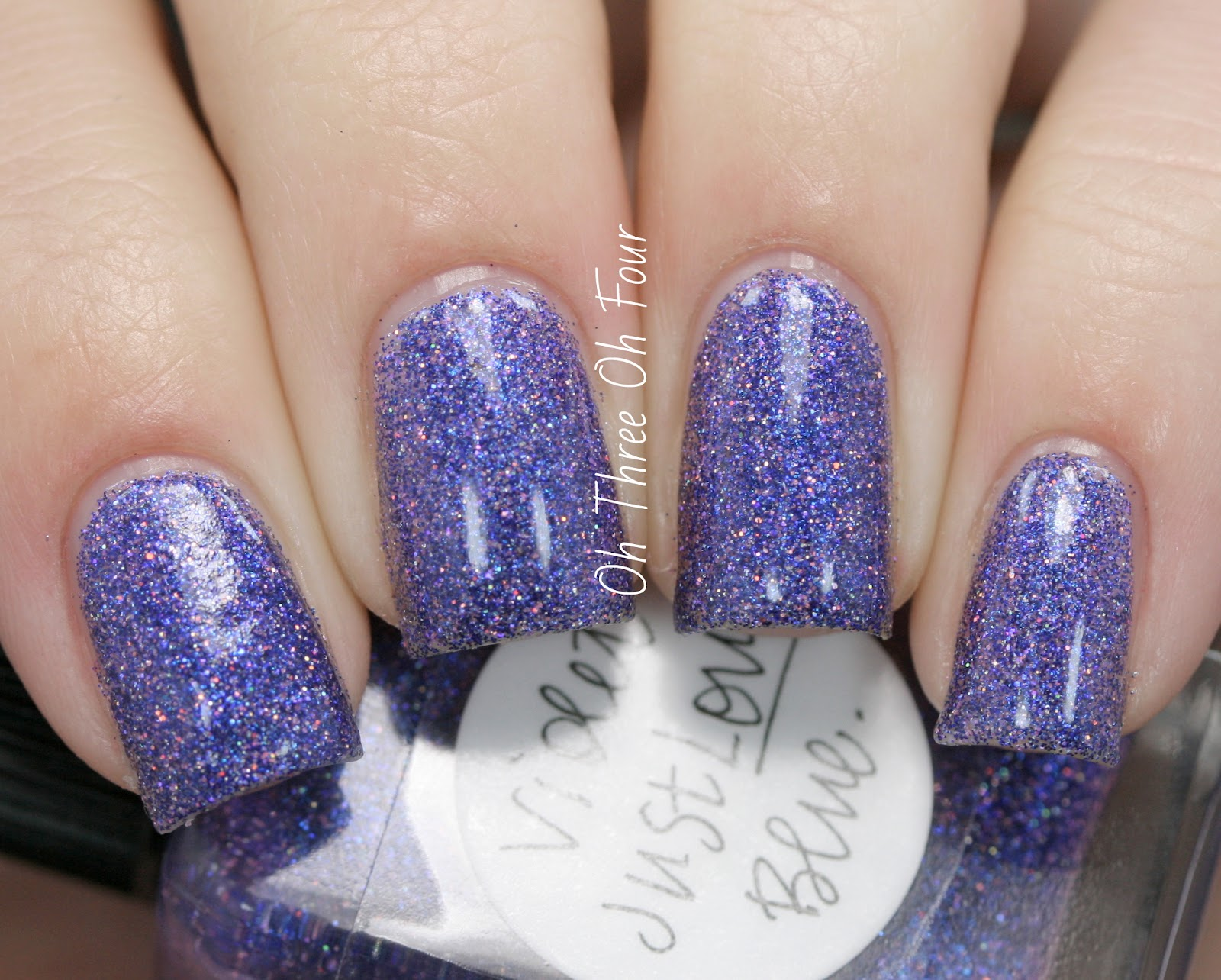 Lynnderella Violet Just Loves Blue Swatch
