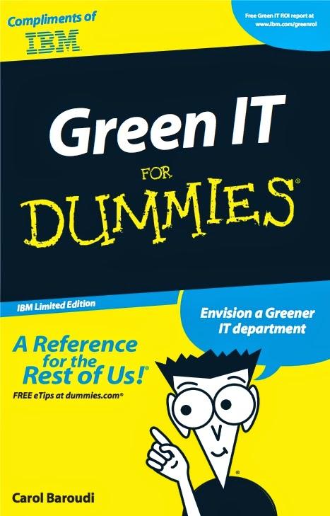 احصل على كتاب «Green IT for Dummies» مجانا إلى بيتك